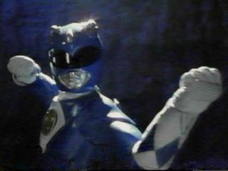 The Blue Power Ranger