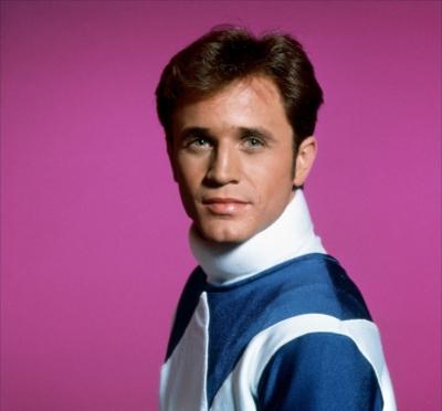 David Yost as Billy, the Blue Ranger