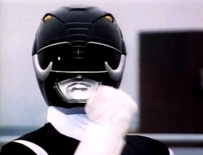 The Black Power Ranger