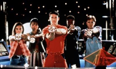 The original Power Ranger crew.
