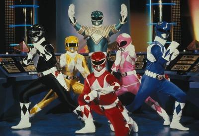 Power Rangers assembled.