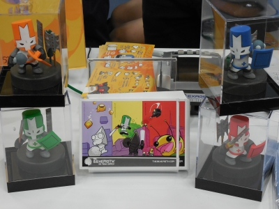 Castle Crasher figurines!