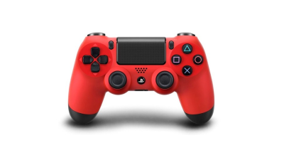 red ps4 dualshock